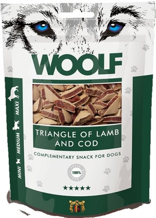 Woolf Triangle wirh lamb and cod