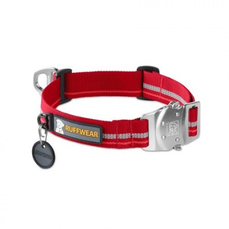 Ruffwear Top Rope™ Collar rød