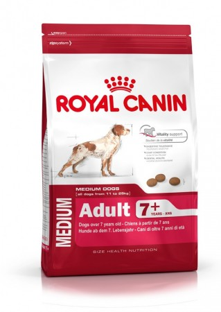 Royal Canin Medium adult 7 år+ 4 kg