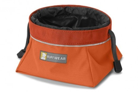 Ruffwear Quencher Cinch Top™ skål, Orange